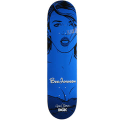 DGK Johnson Cliver Girls - Blue - 8.0in - Skateboard Deck