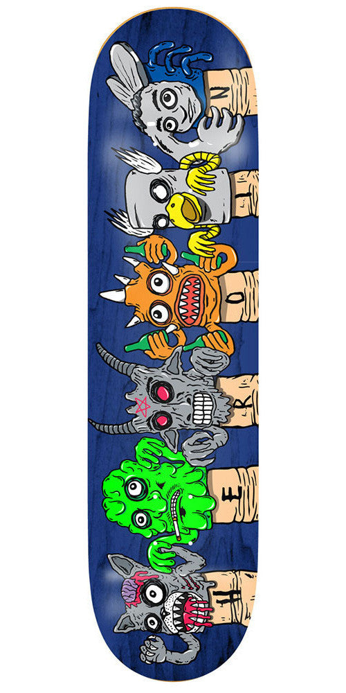 Heroin Scary Monsters Team - 8.125in - Blue - Skateboard Deck