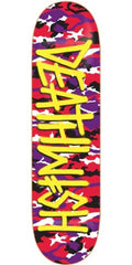 Deathwish Deathspray Camo - Red/Purple - 8.12 - Skateboard Deck