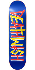 Deathwish Deathspray - 7.875in x 31.0in - Multi Navy/Red - Skateboard Deck