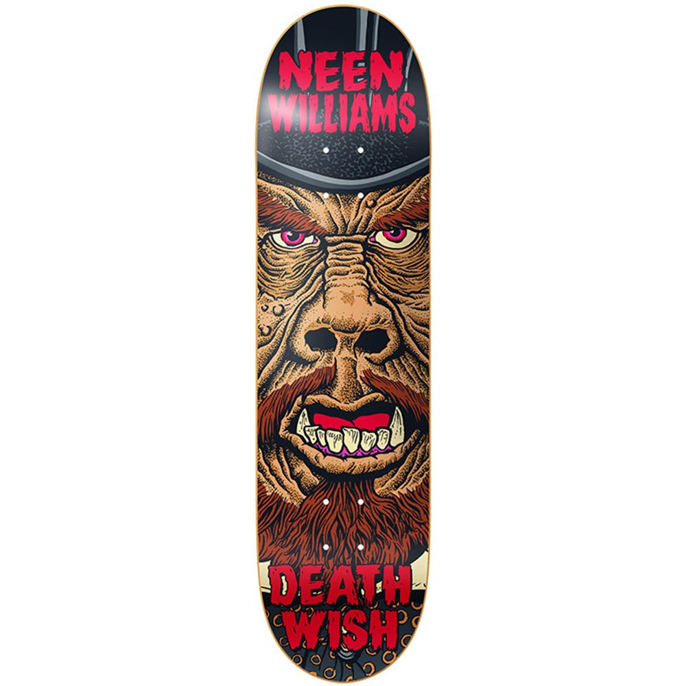 Deathwish Neen Williams Nightmare - 8.0in x 31.5in - Multi - Skateboard Deck