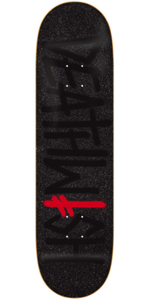 Deathwish Deathspray Asphalt - 8.25in - Black - Skateboard Deck