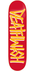 Deathwish Deathspray - 8.387in - Red/Gold - Skateboard Deck