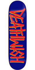 Deathwish Deathspray - 8.25in - Blue/Red - Skateboard Deck