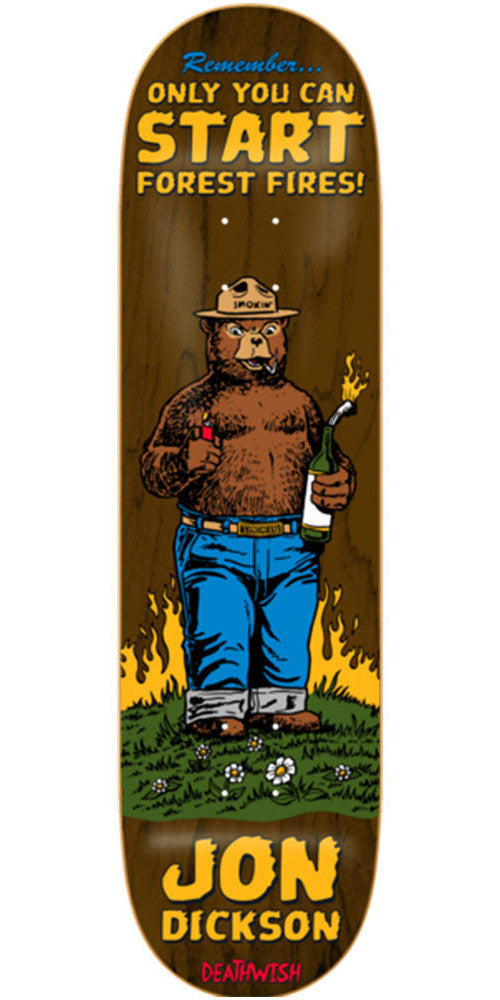 Deathwish Jon Dickson Mascot Mayhem - 8.0in - Assorted - Skateboard Deck