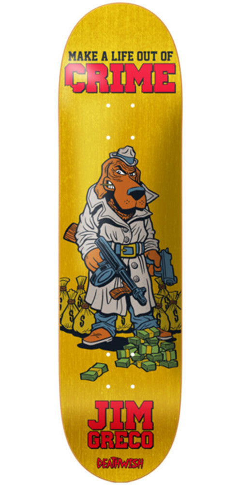 Deathwish Jim Greco Mascot Mayhem - 8.25in - Assorted - Skateboard Deck