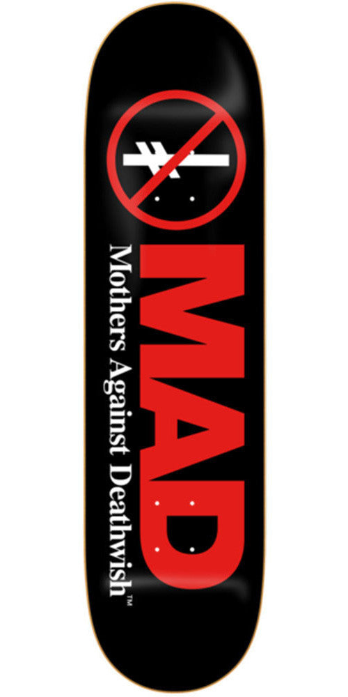 Deathwish MAD - 8.475in - Black - Skateboard Deck