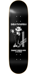 Deathwish Cool Cat - 8.0in - Black - Skateboard Deck