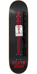 Deathwish Ellington Deadly Intent - 8.3875in - Black - Skateboard Deck