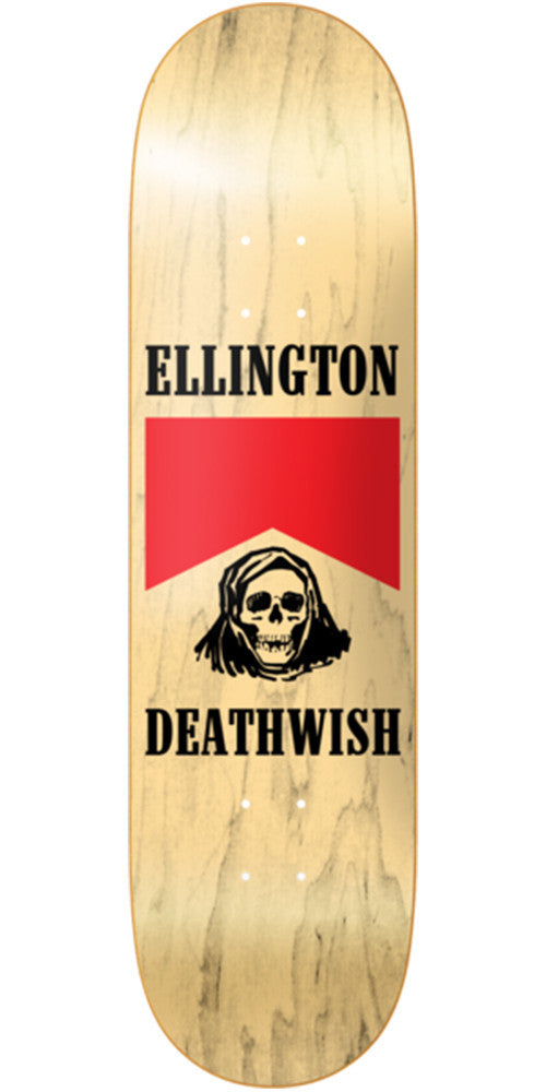 Deathwish Ellington Flavour Country - 8.75in - Natural - Skateboard Deck