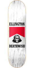 Deathwish Ellington Flavour Country - 8.125in - White - Skateboard Deck