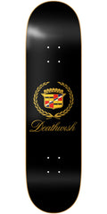 Deathwish Death Caddy - 8.3875in - Black - Skateboard Deck