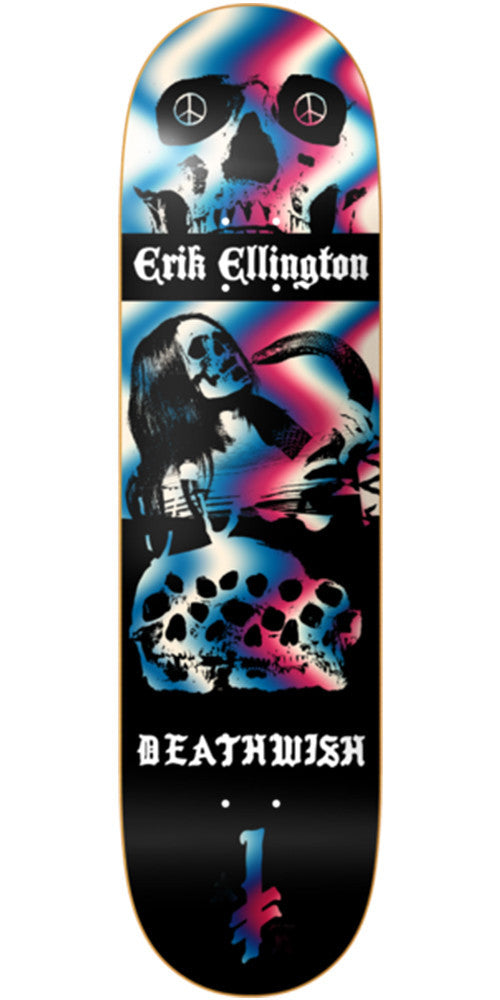 Deathwish Ellington Colors of Death - 8.0in - Multi - Skateboard Deck