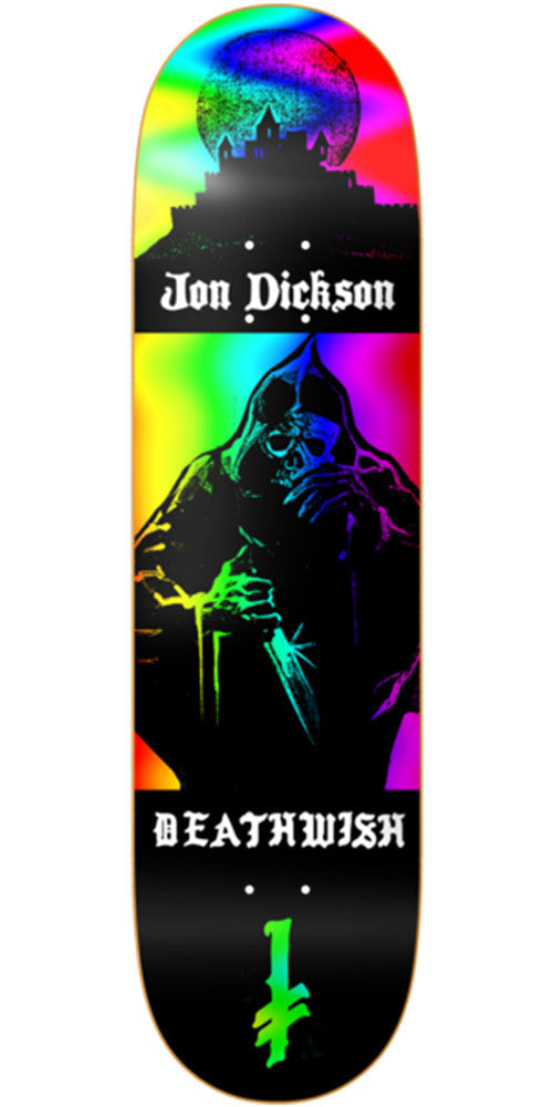 Deathwish Dickson Colors of Death - 8.125in - Multi - Skateboard Deck