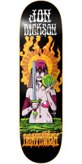 Deathwish Dickson Blacklight - 8.125in - Multi - Skateboard Deck