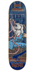 Deathwish Dickson Delicacy - 8.475in - Blue - Skateboard Deck