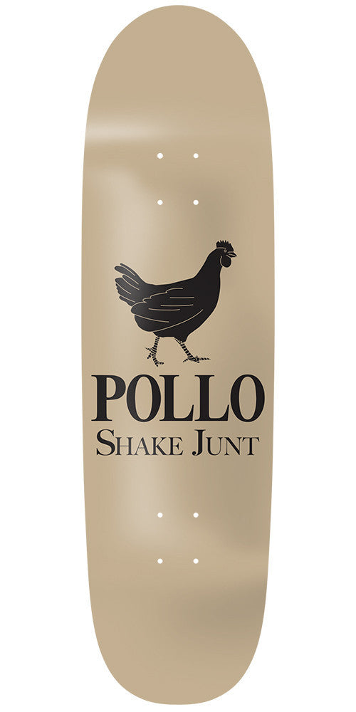 Shake Junt Pollo Cruiser - 8.75in - Tan - Skateboard Deck