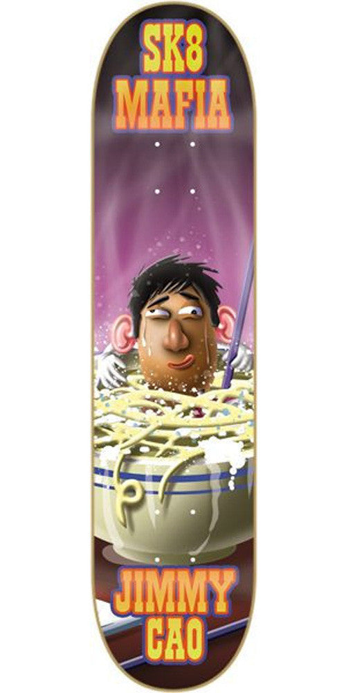 Sk8Mafia Toe Up Cao - Purple/Black - 8.0 - Skateboard Deck