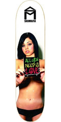 Sk8Mafia Gaby All U Need Two - Multi - 8.19 - Skateboard Deck