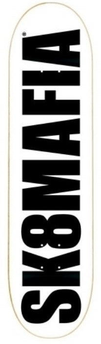 Sk8Mafia OG Logo Price Point - White - 8.06 - Skateboard Deck