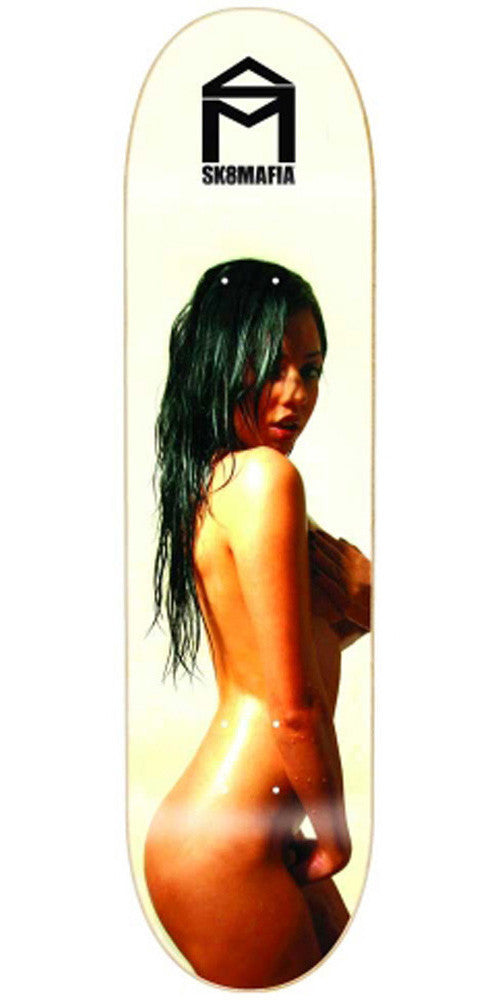 Sk8Mafia Wet 2 - White - 8.0 x 32.0 - Skateboard Deck