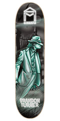 Sk8Mafia Brandon Turner Legends - Black/Blue - 8.0 x 32.0 - Skateboard Deck