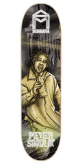 Sk8Mafia Peter Smolik Legends - Black/Yellow - 8.19 x 32.0 - Skateboard Deck