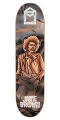 Sk8Mafia Jake Brown Legends - Black/Orange - 8.19 x 32.0 - Skateboard Deck