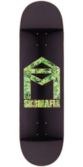 Sk8mafia House Logo Herb Fill - Black - 8.5in - Skateboard Deck