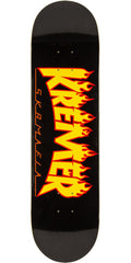Sk8mafia Kremer SOTFY Flames - Black - 8.25in - Skateboard Deck