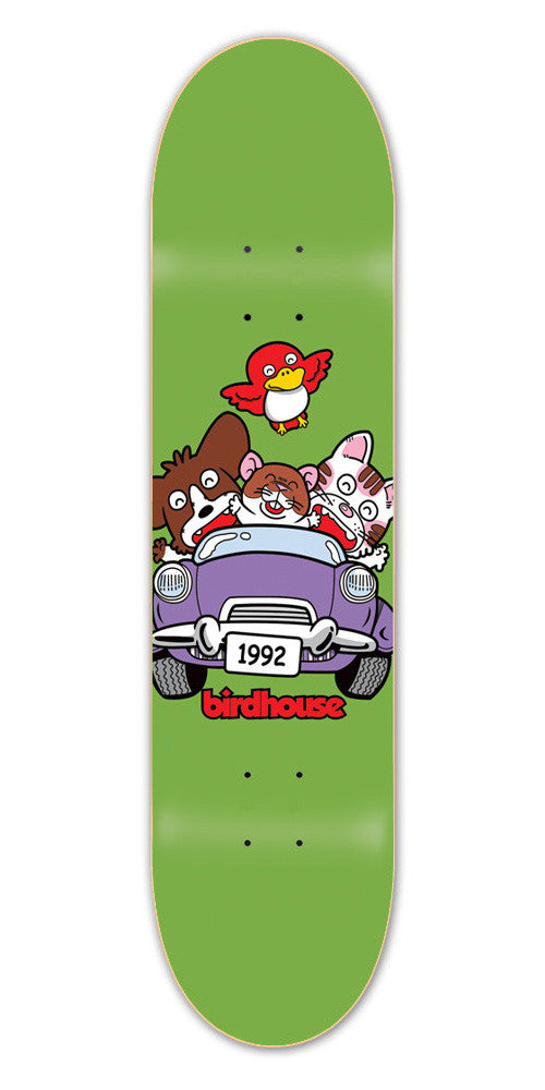 Birdhouse Team Bunch - Green - 8.25 - Skateboard Deck