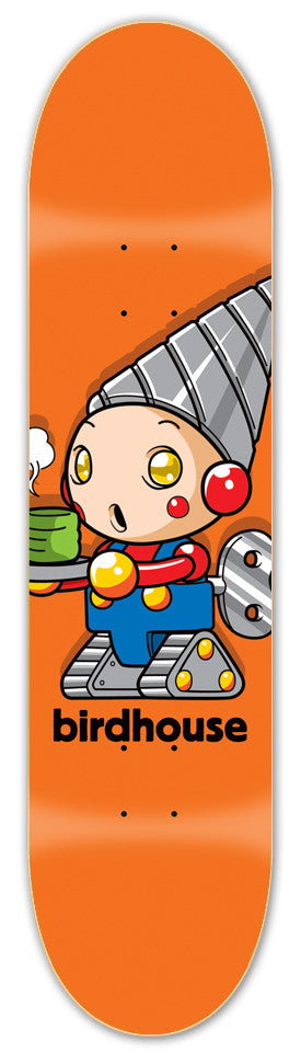 Birdhouse Team Robot - Orange - 8.5 - Skateboard Deck
