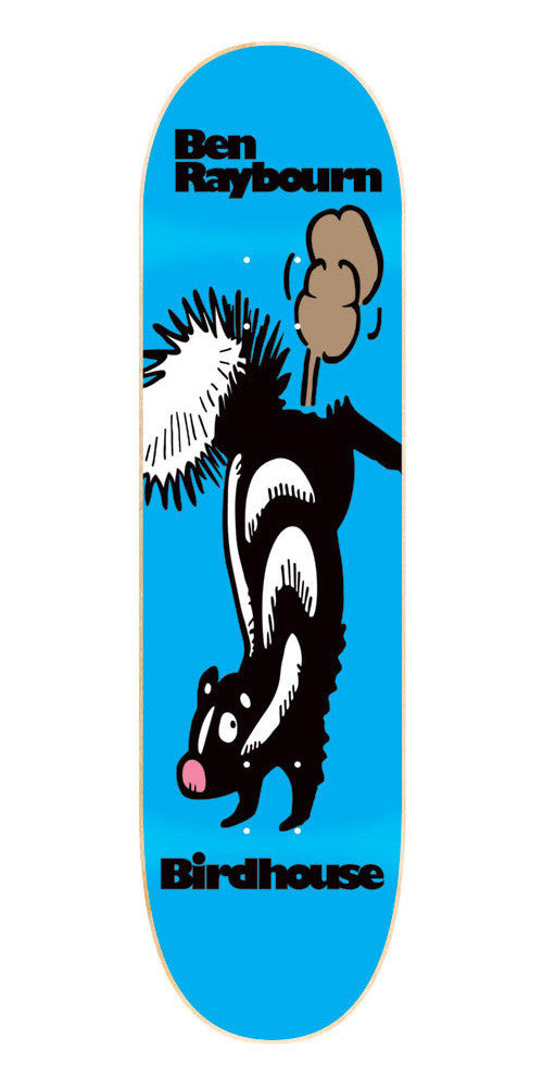 Birdhouse Germ Raybourn Skunk - Blue/Black - 8.0 - Skateboard Deck