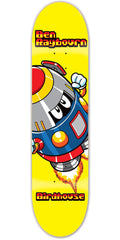 Birdhouse Ben Raybourn Rocketman - Yellow - 8.3 - Skateboard Deck