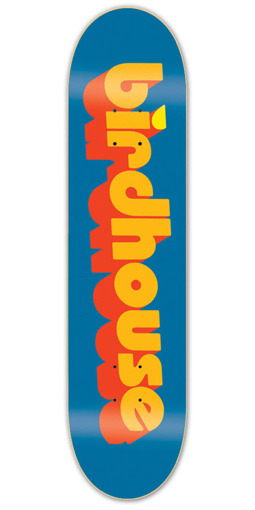 Birdhouse Team 3D - Blue - 8.0 - Skateboard Deck