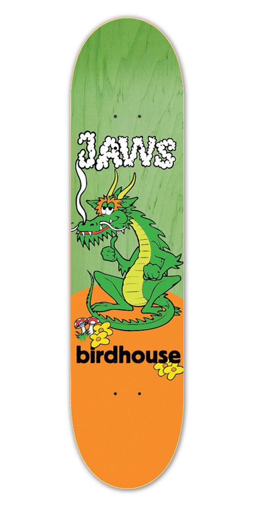 Birdhouse Jaws Dragon - Green/Orange - 8.0 - Skateboard Deck