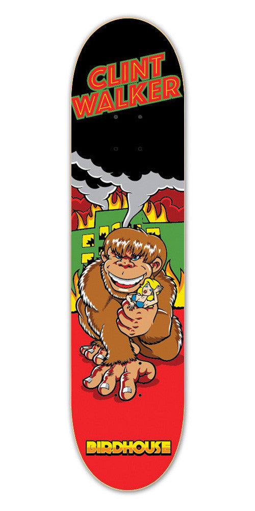 Birdhouse Walker Rampage - Red - 8.2 - Skateboard Deck