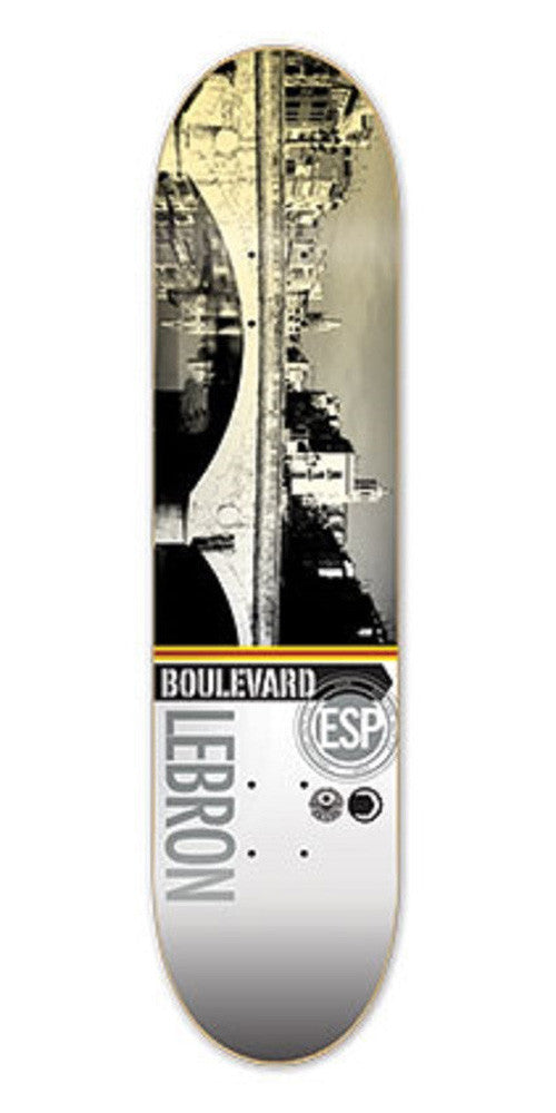 BLVD Lebron Cityscape - Grey/Multi - 8.1 - Skateboard Deck