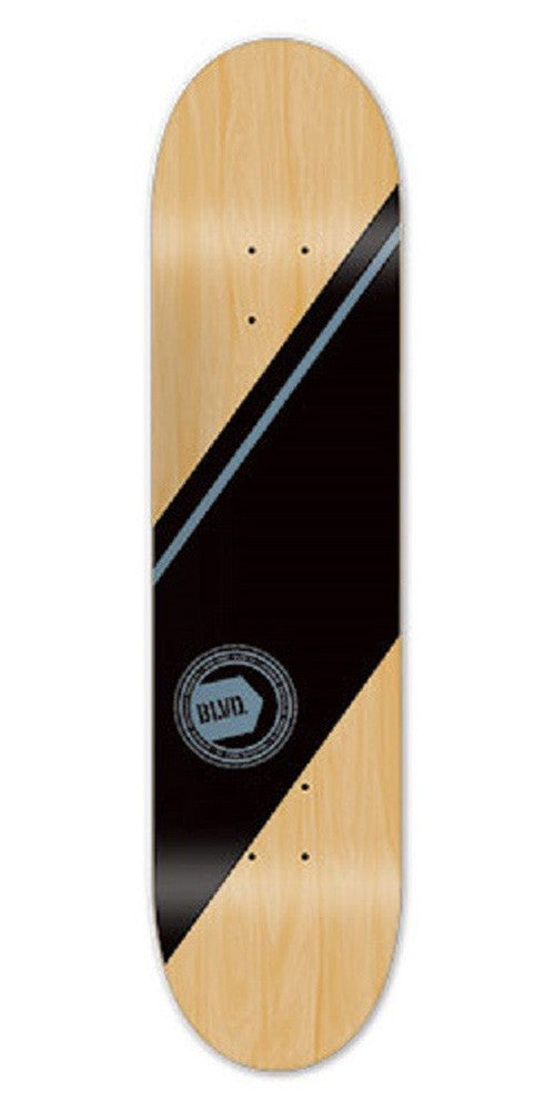 BLVD Team Authentic - Blue - 7.5 - Skateboard Deck