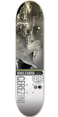 BLVD Cerezini Cityscape - Grey/Multi - 7.75 - Skateboard Deck
