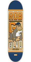 BLVD Gonzalez Mascot - Natural/Blue - 8.1 - Skateboard Deck