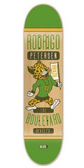 BLVD Petersen Mascot - Natural/Green - 8.0 - Skateboard Deck