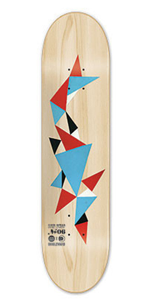 BLVD Acid Drop 06 - Natural - 7.75 - Skateboard Deck