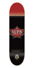 BLVD One Off Supa - Black - 7.75 - Skateboard Deck