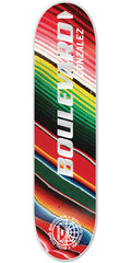 BLVD Gonzalez Motion - Multi - 8.125in - Skateboard Deck