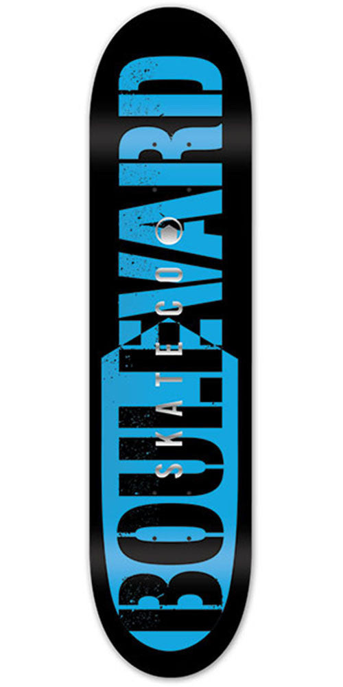 BLVD Bold Foil - Blue - 8.25in - Skateboard Deck