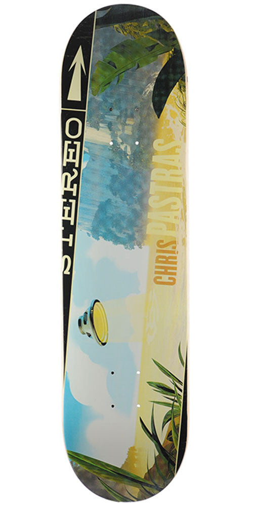 Stereo Chris Pastras Soundspace - Multi - 8.125in - Skateboard Deck