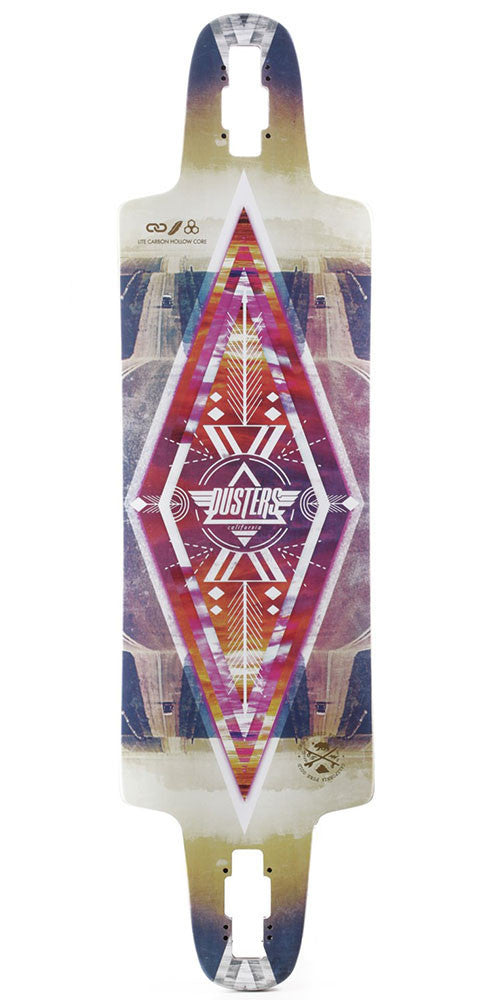 Dusters Lite - Multi - 9.5in x 36in - Skateboard Deck w/ Printed Grip Tape