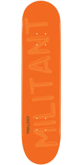 Mini Logo - Orange Militant - 7.88 - Skateboard Deck