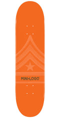 Mini Logo - Orange Quartermaster - 7.75 - Skateboard Deck